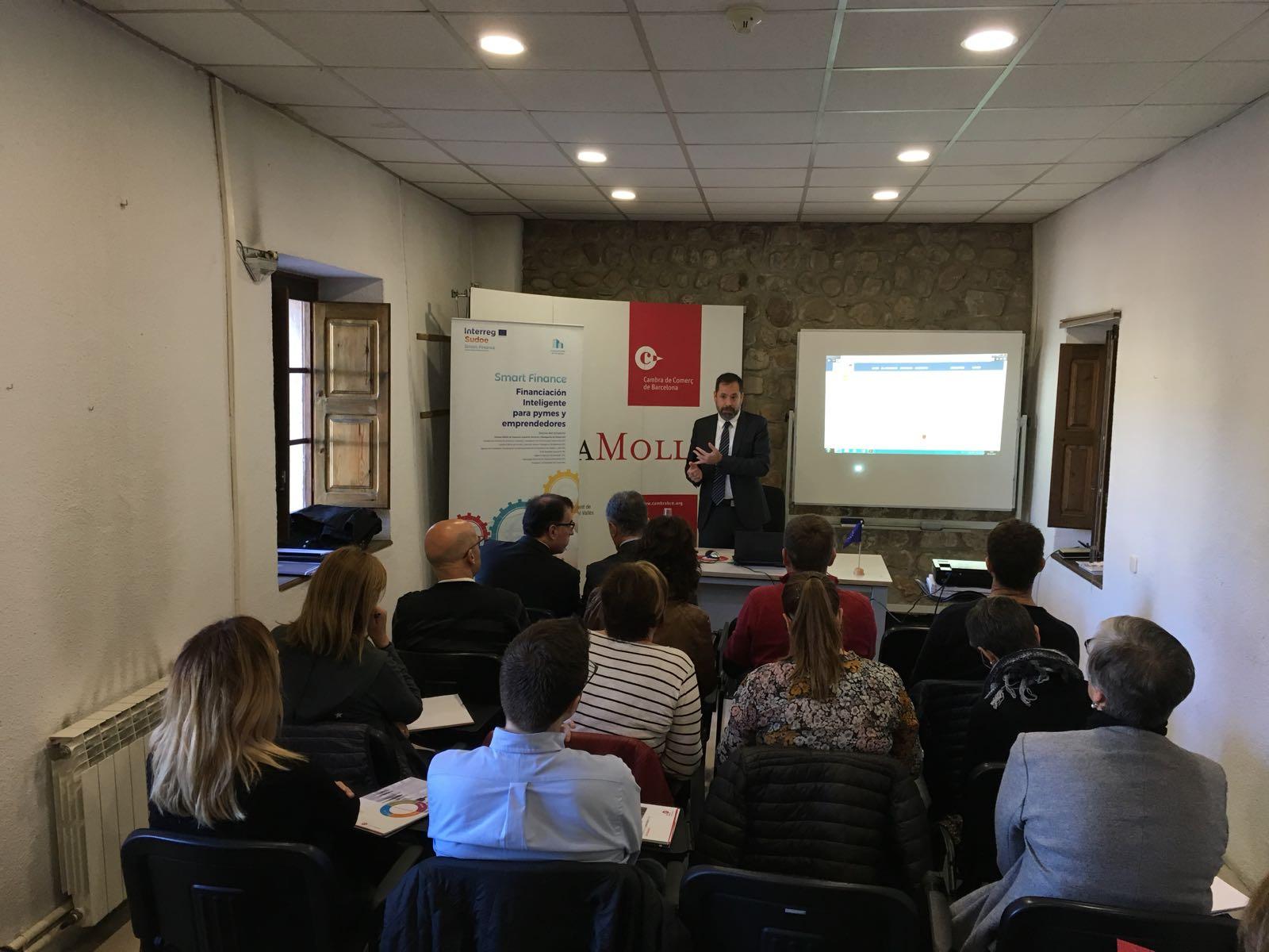 Câmara de Comércio de Barcelona apresenta o seu FINLAB no quadro do projeto Smart Finance