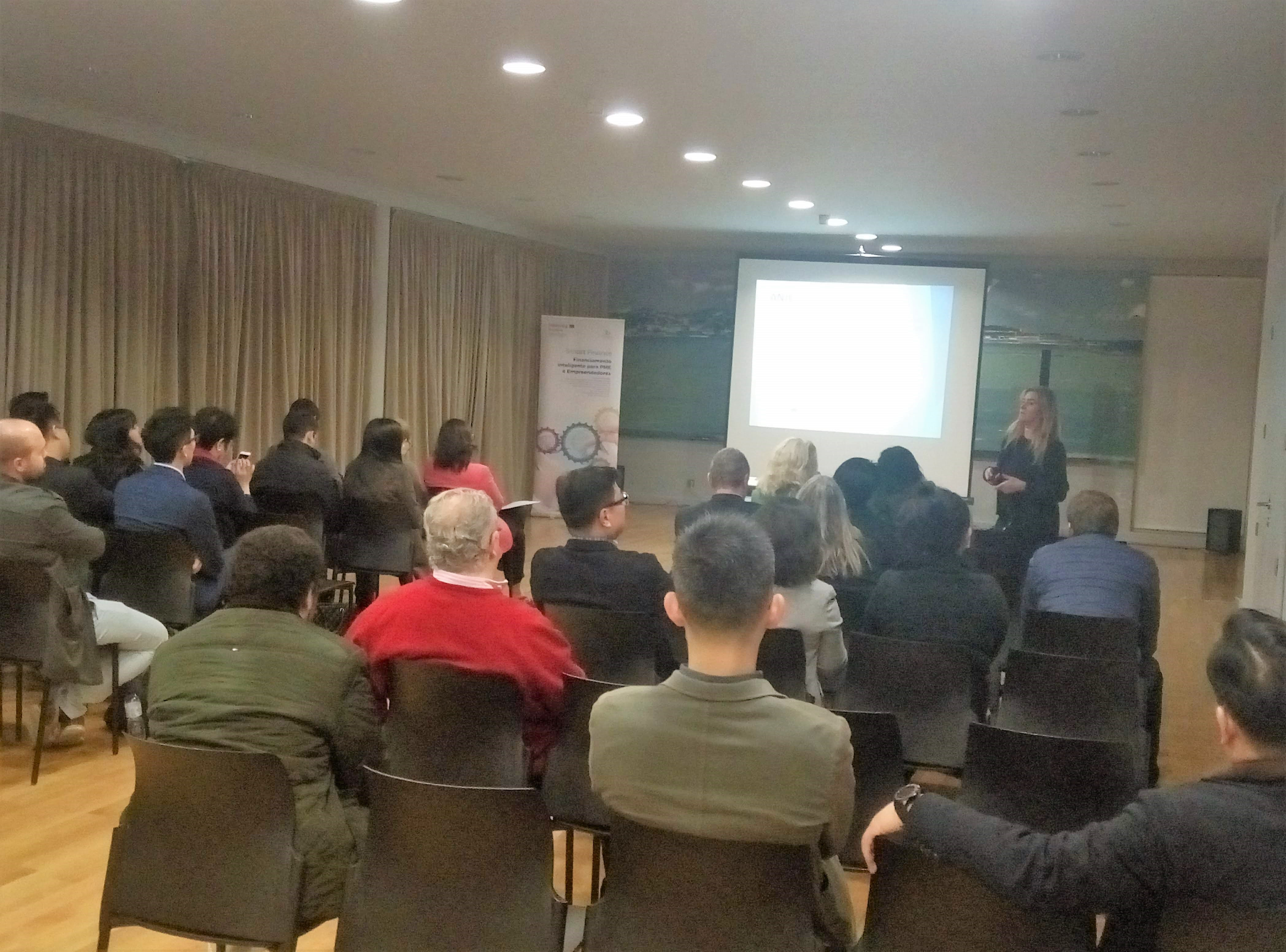 Evento de networking SMART FINANCE